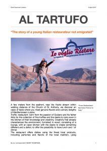 Giornale Al Tartufo Pdf